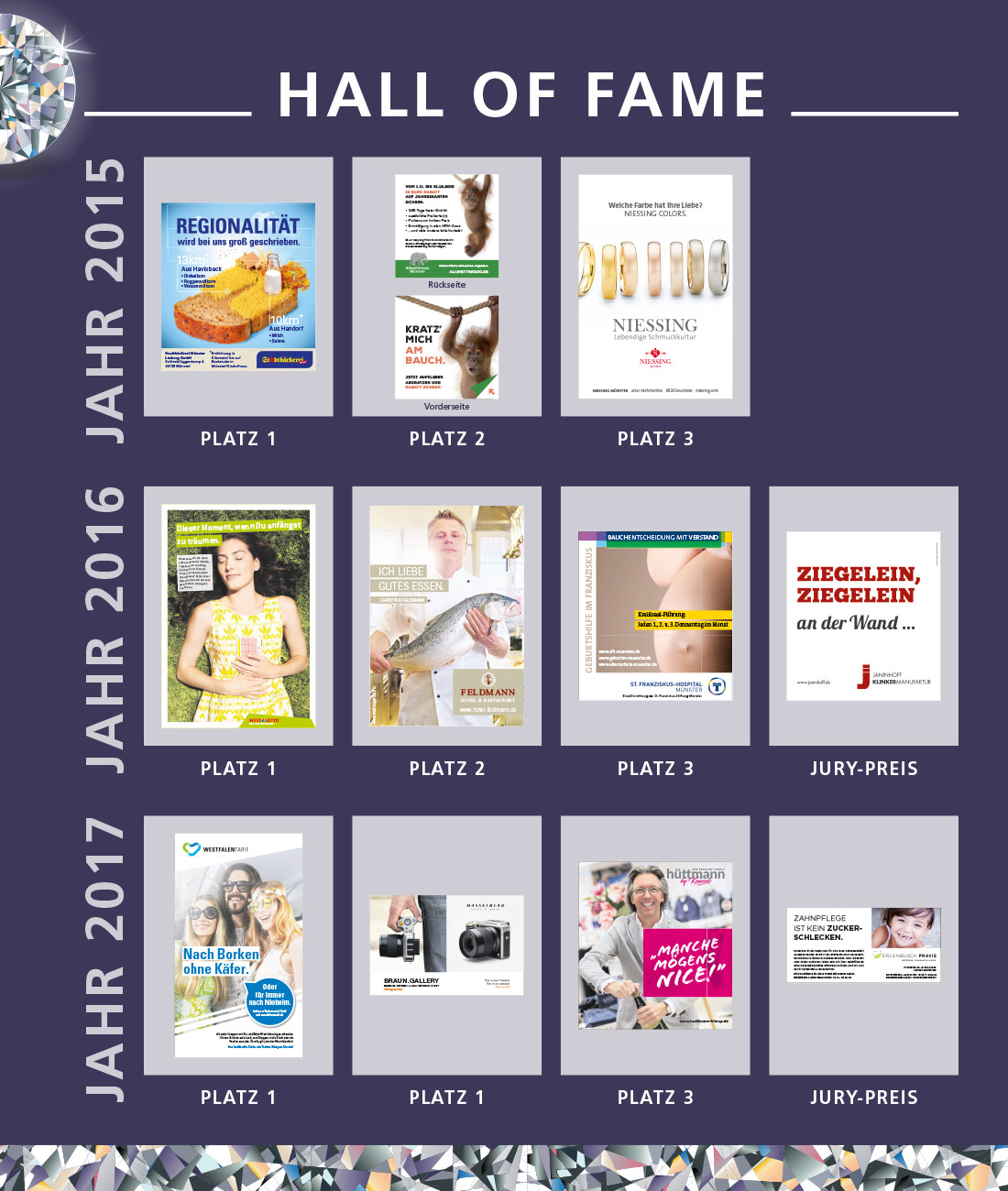 Hall of fame BrillANZ