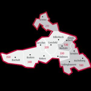 Kreis Coesfeld+Borken